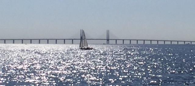 Öresundbrücke von Malmö aus