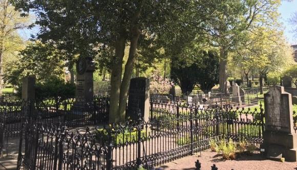 Gamla kyrkogården in Malmö - Grabstätte